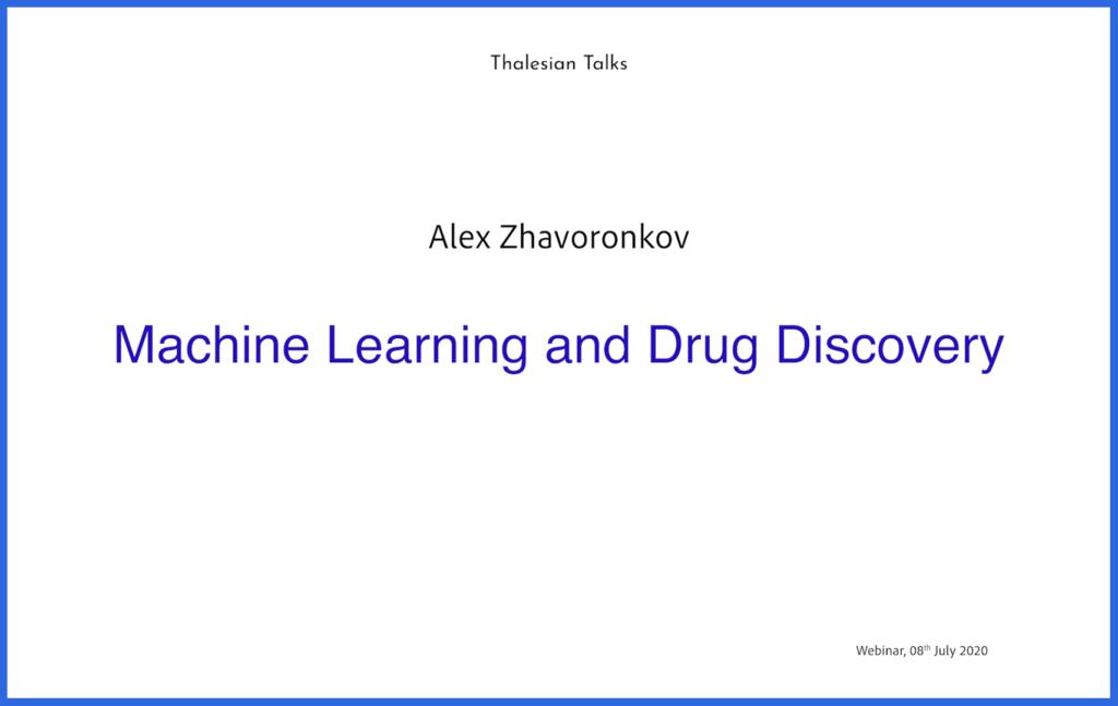 Alex Zhavoronkov: Longevity Biotechnology